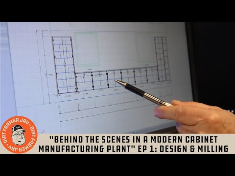 """""""Behind The Scenes In A Modern Cabinet Manufacturing Plant"""" Ep 1: Design & Milling"""