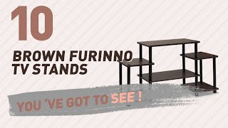 Brown Furinno TV Stands // New & Popular 2017
