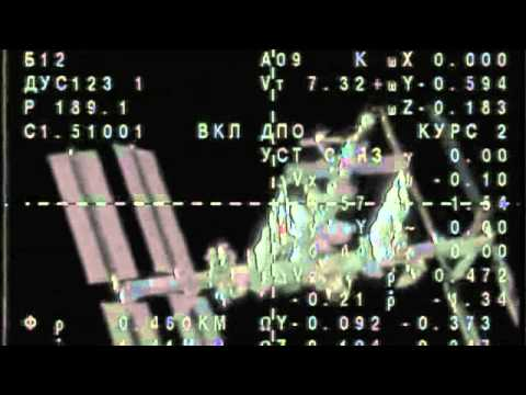 Soyuz Launches And Docks With International Space Station   Video