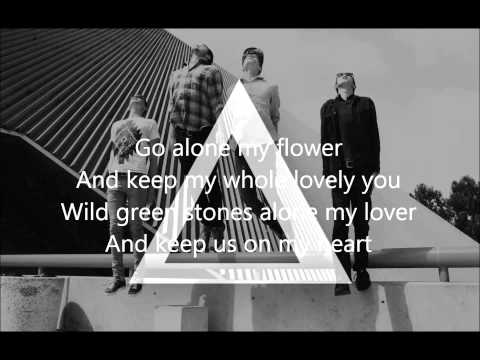 alt-j - tessellate - lyrics on screen