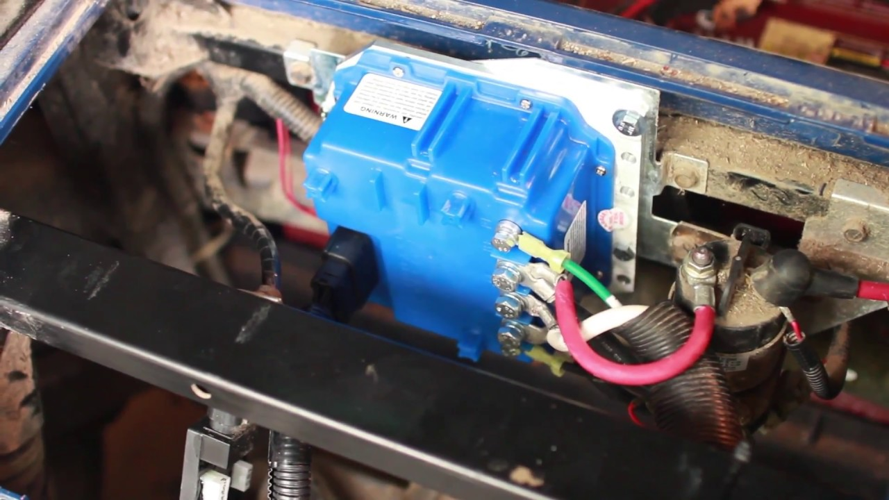 small resolution of yamaha g29 golf cart 600amp controller installation