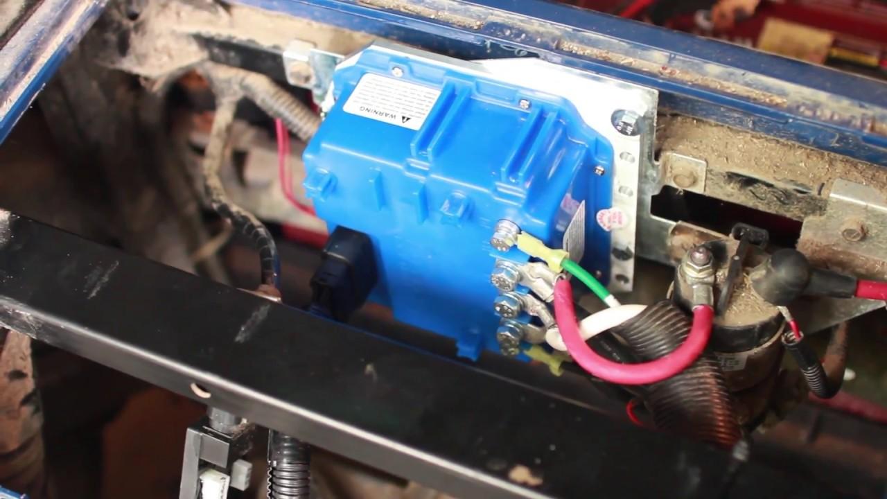 Yamaha G29 Golf Cart 600amp Controller Installation  YouTube