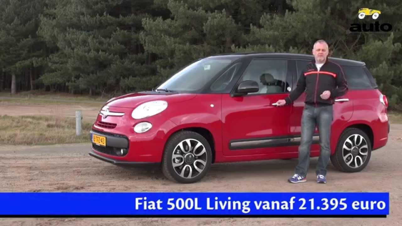 Fiat 500l Living 1 6 Multijet Review 2014 Youtube