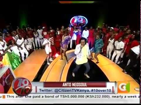 Anto Neosoul electrifying #10Over10 performance