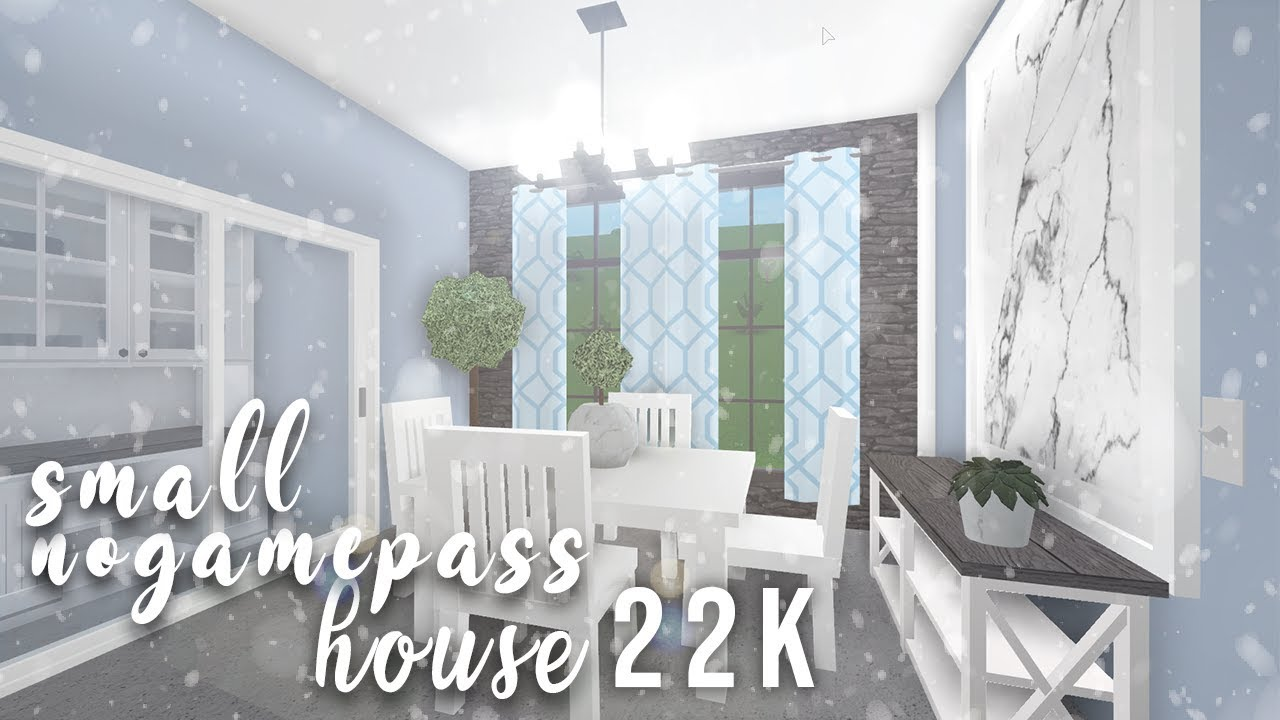 Roblox Bloxburg Small No Gamepass House W Frenchrxses