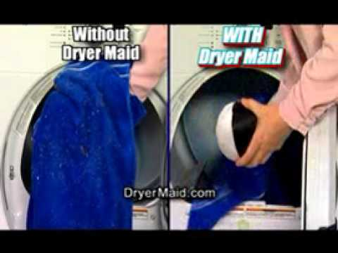 Dryer Maid Demonstration Amp Review Get Rid Of Pet Hair
