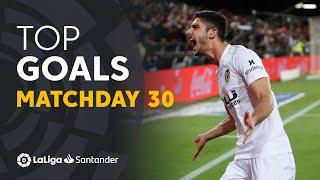 Todos los goles de la jornada 30 de LaLiga Santander 2018/2019