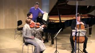 Schubert, Trio op 100 - Andante con Moto