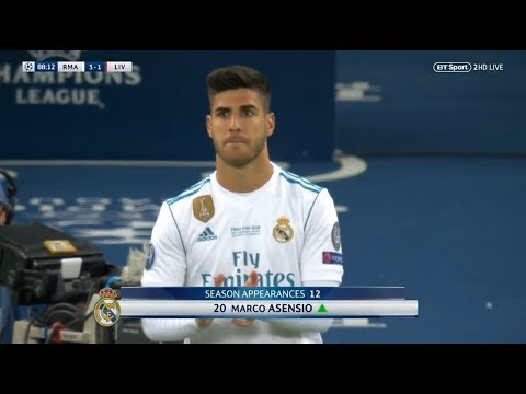 Marco Asensio vs Liverpool (UCL Final) (26/05/2018) HD 1080i by Asensio20™
