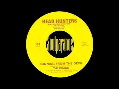 RARE FUNK 45t - TALISMAN - Running Form Tthe Devil - Head Hunters