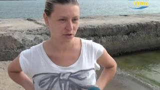 Турникеты на одесском пляже