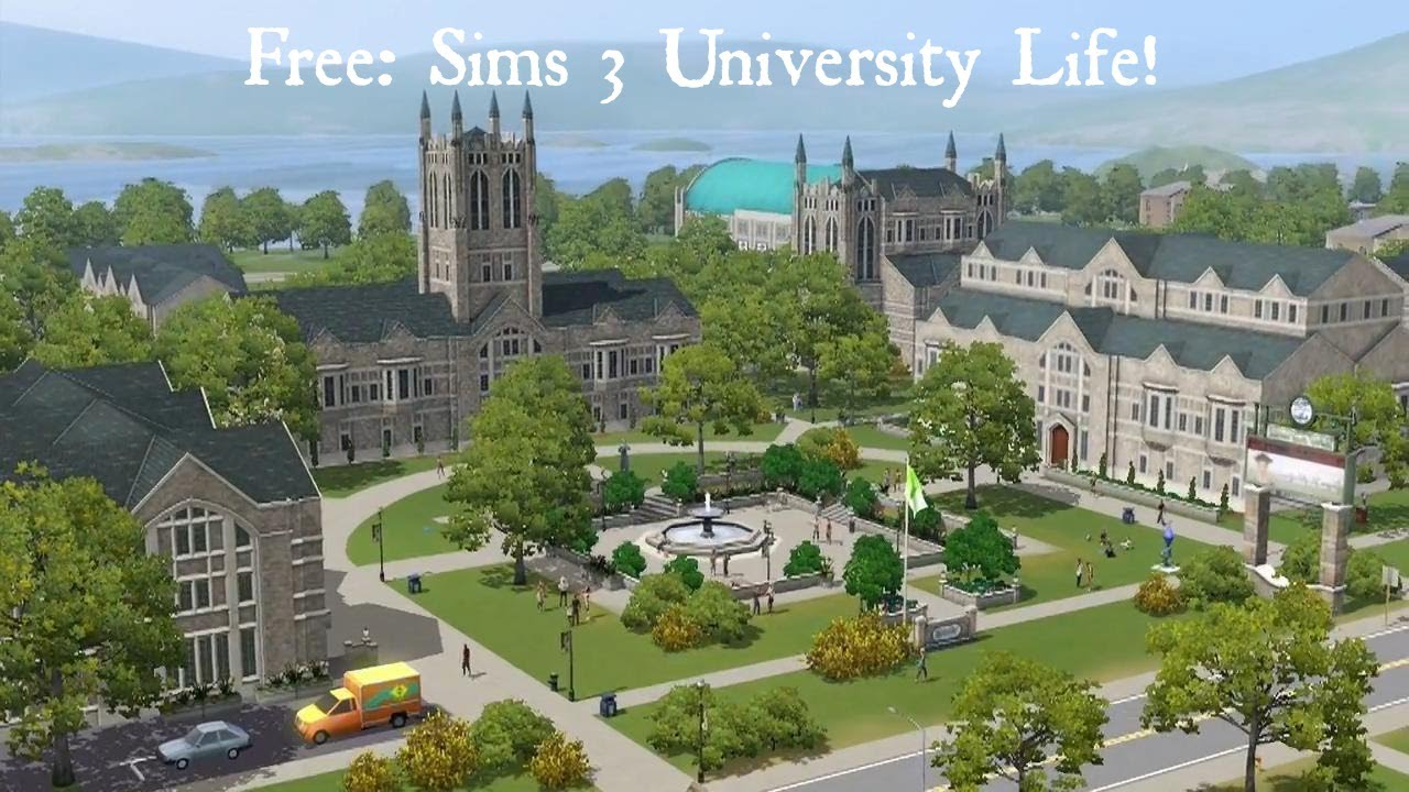 Head off to university with The Sims