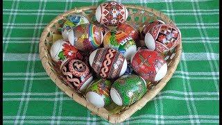 Пасхальные яйца  Термонаклейки(, 2015-04-11T13:01:23.000Z)