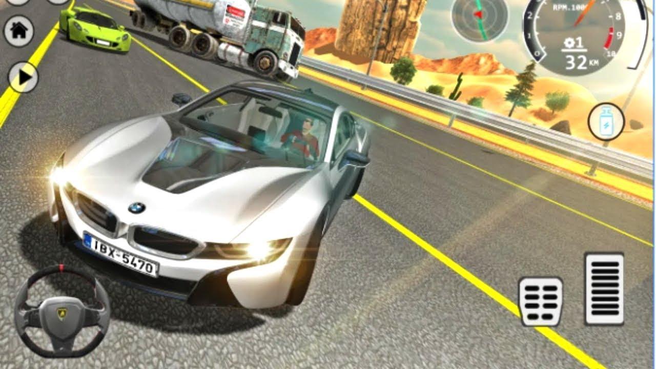 Drift Simulator I8 Hybrid Sports Bmw I8 Vehicle City Stunts