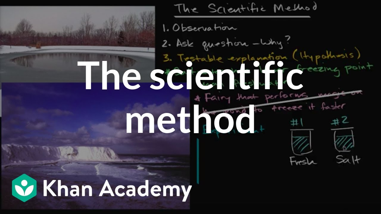The scientific method (video) | Khan Academy