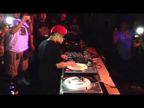DJ Qbert's performance @ fight club in Sacramento. Video courtesy of www.dop3styl3s.com