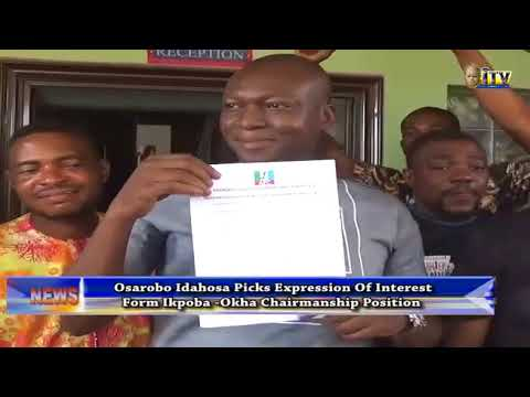 LG polls: Osarobo Idahosa picks expression of interest form