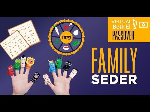 Beth El Family Seder | March 28, 2021