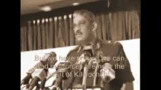 Lt.General Sarath Fonseka, Commander, Sri Lanka Army (War Situation Report 29 09 2008)