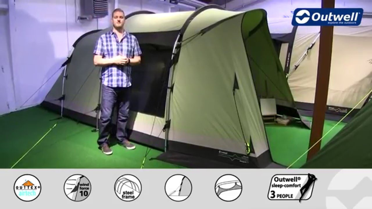 & Outwell Newgate 4 Tent - 2016 | Innovative Family Camping - YouTube