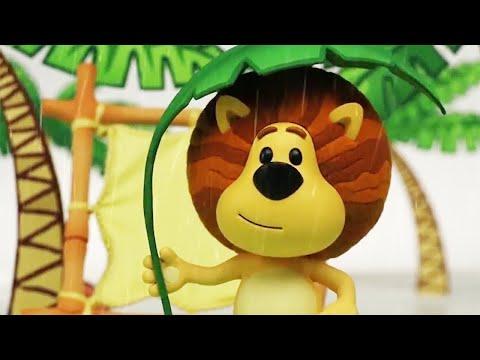 Raa Raa The Noisy Lion | Raa Raa's Rainy Day | Full Episodes | Kids Cartoon | Videos For Kids