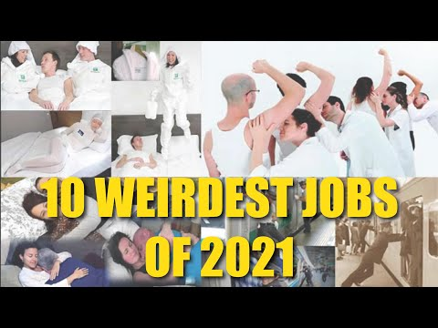 Top 10 Weirdest Jobs In The World - Thousands $ Per Month But Dare You?
