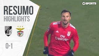 Highlights   Resumo: Vitória SC 0-1 Benfica (Liga 18/19 #18)