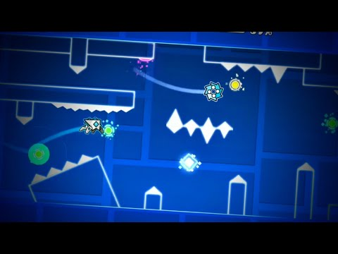 """Layout #13 """"I Love You"""" By Astraa (me) [Geometry Dash 2.2]"""
