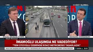 Ekrem İmamoğlu'nun İkinci Metrobüs Projesi