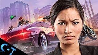GTA V: Angry Girl Gamer Rage Quits