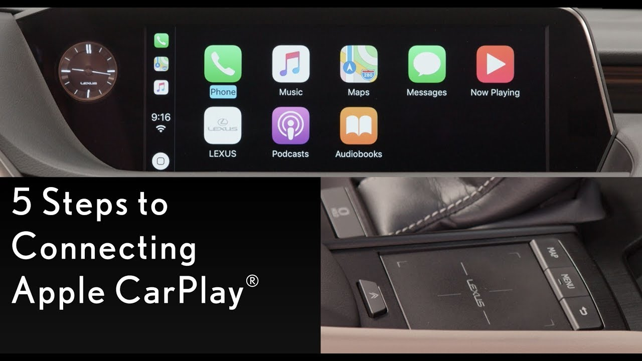 How-To Connect to Apple CarPlay | Lexus