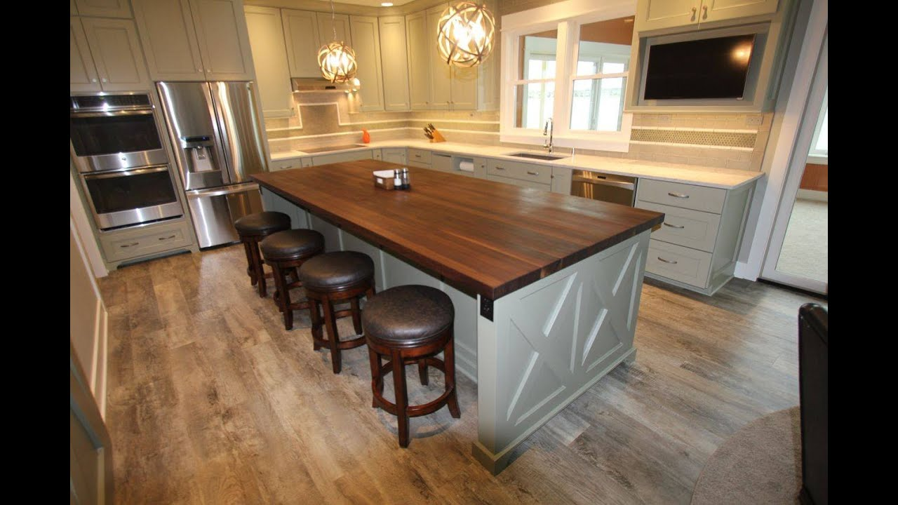 butcher block table butcher block countertop care youtube. Black Bedroom Furniture Sets. Home Design Ideas