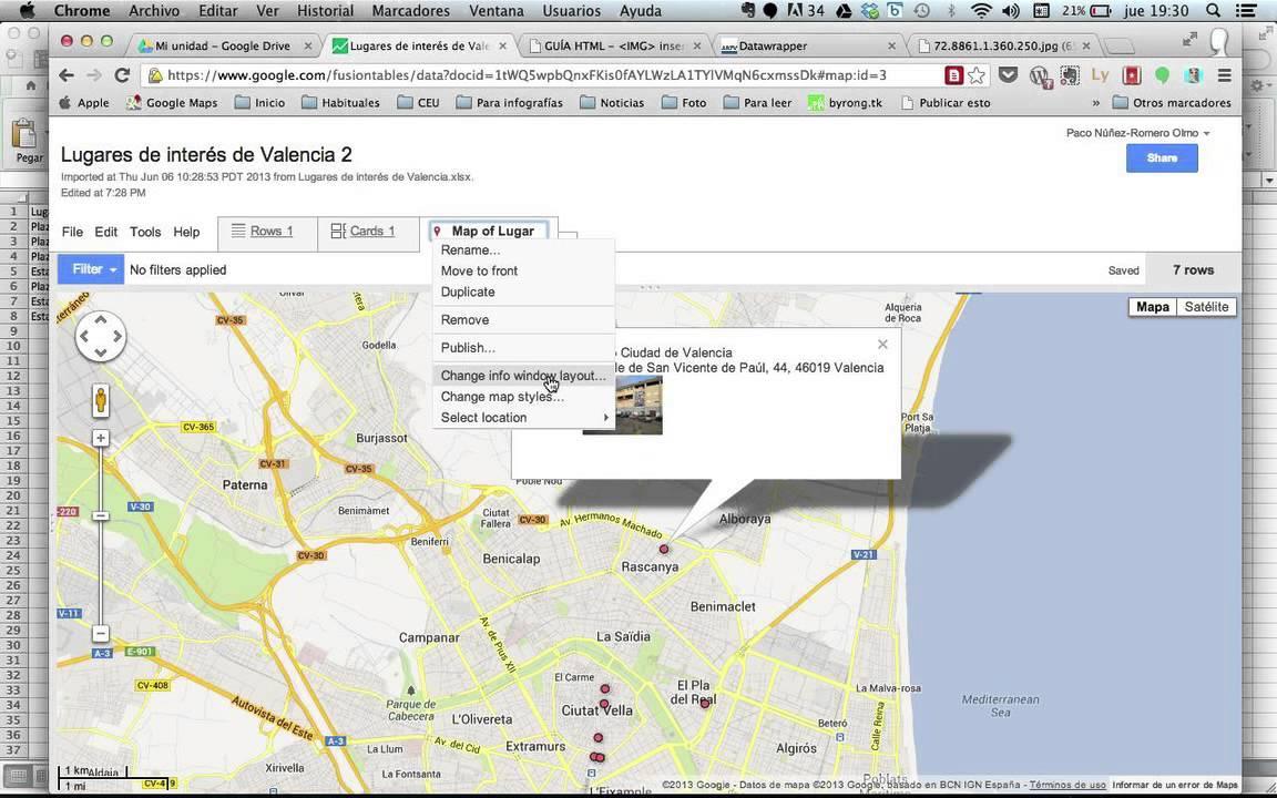 Crear Un Mapa Personalizado.Crear Un Mapa Personalizado En Google Con Imagenes