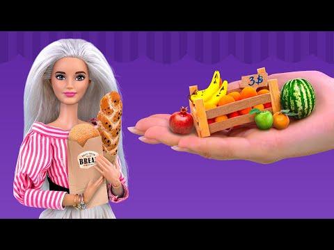 Как сделать своими руками из пластилина еду для кукол из пластилина