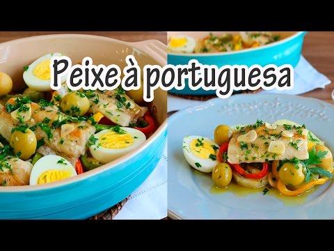 PEIXE À PORTUGUESA I Receitas e Temperos