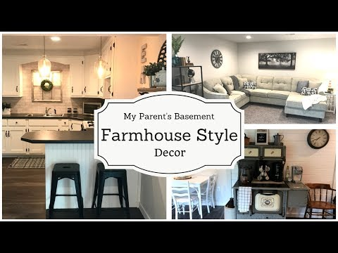 Farmhouse Style Decor | Basement Project | Episode 2