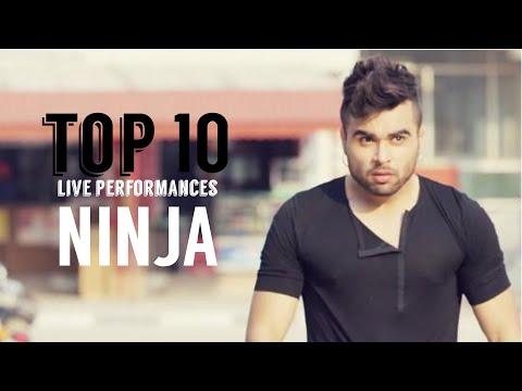 Ninja   Top 10 Live Performances   Latest Punjabi Songs 2016   5K SUB   Syco TM