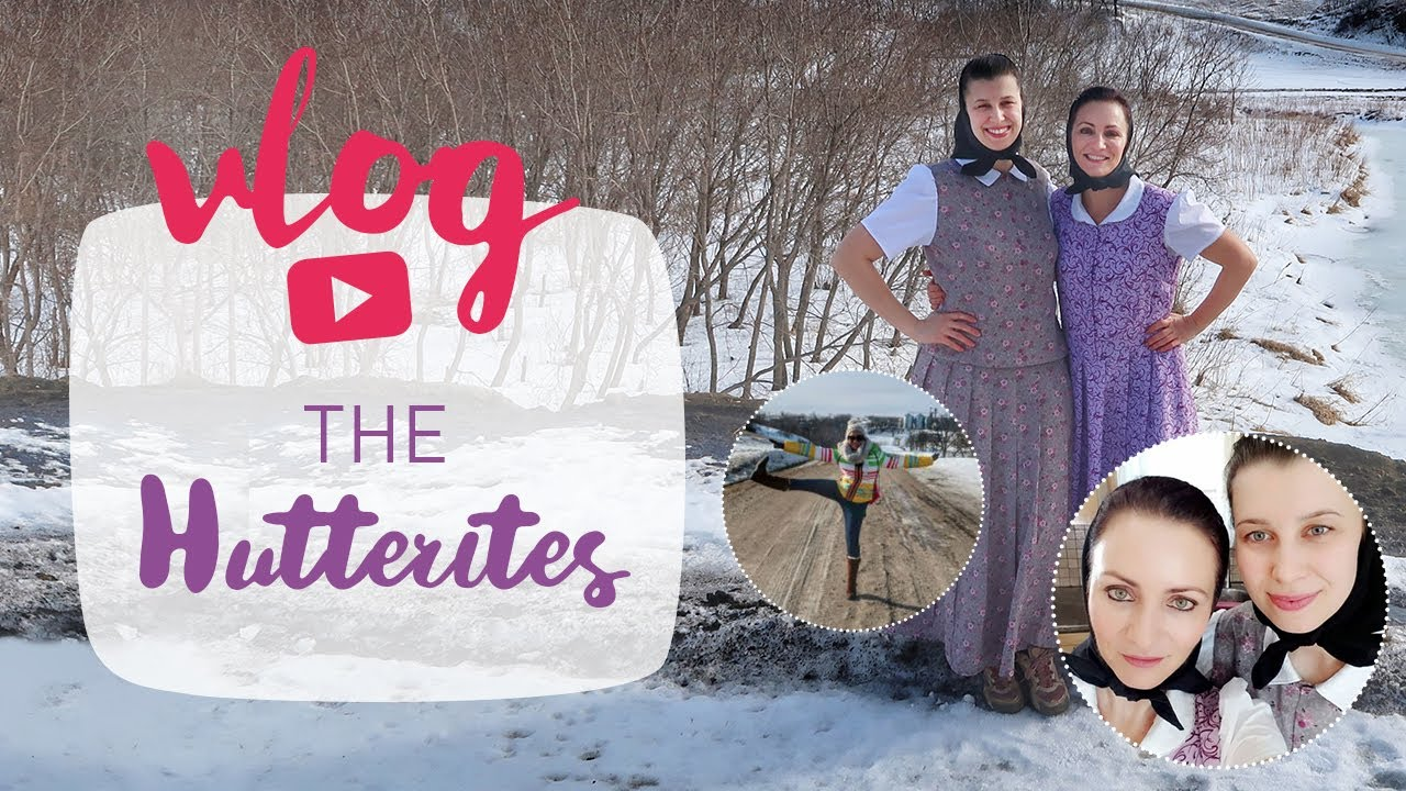 en my stay with the hutterite colony of forest river youtube