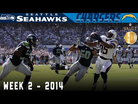 Philip Rivers Takes on the Legion of Boom (Seahawks vs. Chargers, 2014) | NFL Vault Highlights