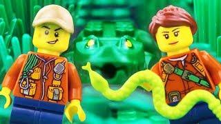 LEGO City Jungle Explorer Fail STOP MOTION LEGO Jungle Brick Building | LEGO City | By Billy Bricks