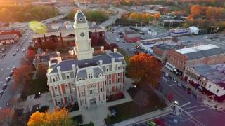 Noblesville Indiana - drone footage