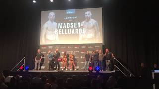 Mark O. Madsen at UFC Copenhagen Weigh-ins