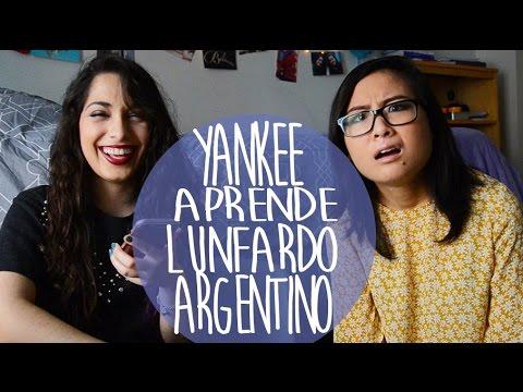 Yankee aprende lunfardo Argentino | Flor Tedesco