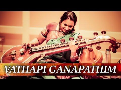 Vathapi Ganapathim Hamsadhwani Adi | Veena Lahari by Kalaimamani Prabhavathi Ganesan