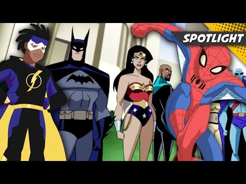Top 13 Comic Book Animated Series