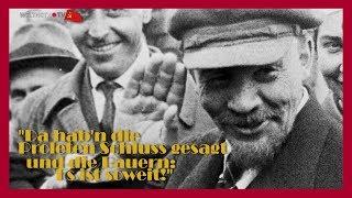 Da hab'n die Proleten Schluss gesagt ... - Gesprächsrunde 100 Jahre Oktoberrevolution