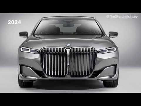 2020 BMW 7-Series Design Makeover
