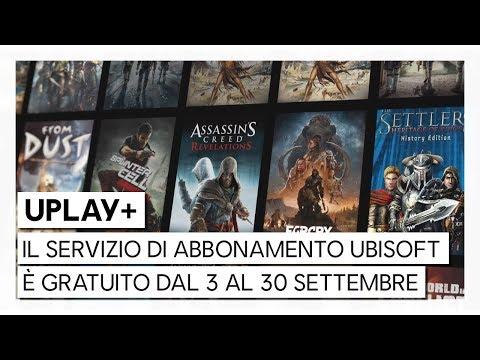 UPLAY+ GRATUITO: PROVA IL SERVIZIO DI ABBONAMENTO UBISOFT A PARTIRE DAL 3 SETTEMBRE 2019