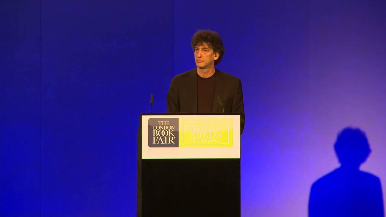 LBF 2013 | Digital Minds Conference | Neil Gaiman keynote