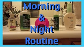 MORNING AND NIGHT ROUTINE WITH DUDU OSUN  | Brittnissx3